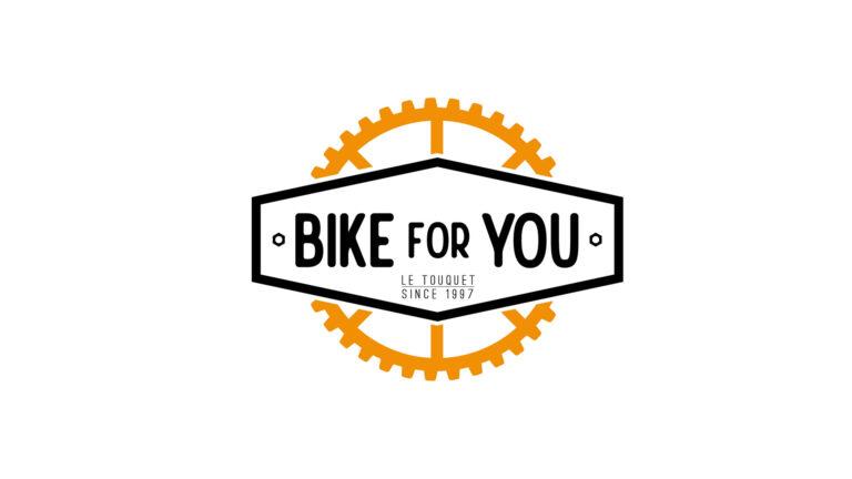 Logo vectoriel - Boutique vélos - Bike for You - Le Touquet-Paris-Plage