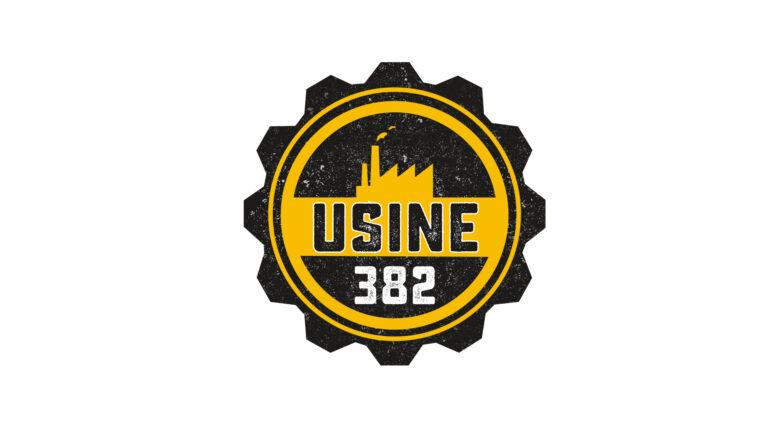 Logo vectoriel - Déstockage - Usine 382 - Samer