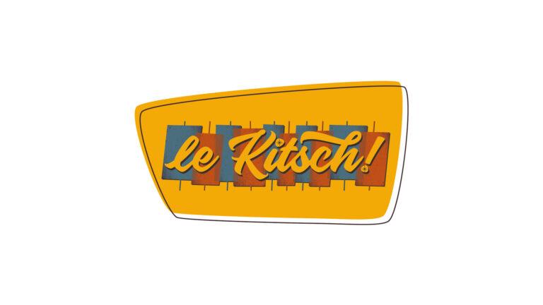 Logo vectoriel - Brasserie - Le Kitsch ! - Hardelot